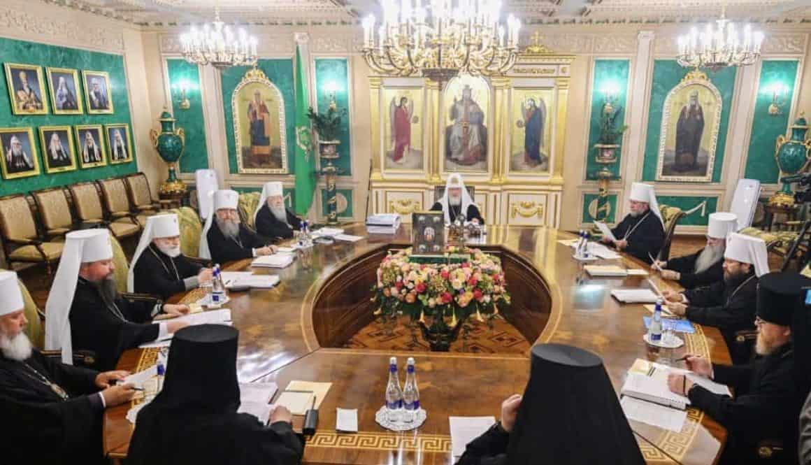 Заседание Синода